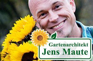 gartenarchitekt jens maute marburg gartenplanung gutschein mit sonnenblumen