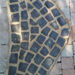 basalt-kleinpflaster pflaster-ornament