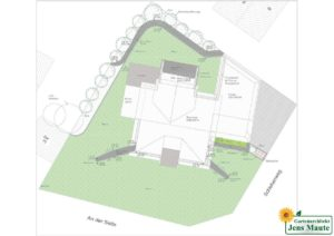 Grundlagenplan Gartengestaltung