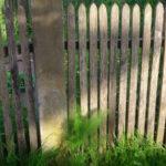 holzzaun staketenzaun