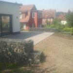 terrassenbau betonplattenfläche