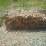 gabionenmauer drahtkorb mauer hang abfangen