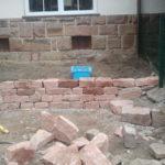 trockenmauern sandstein natursteinmauer
