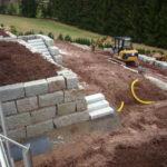 trockenmauern natursteinmauer granitbloecke