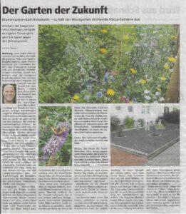 Garten im Klimawandel. Der Hausgarten der Zukunft.
