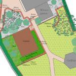 gartenumgestaltung plan konzept terrasse sitzpläetze mauern