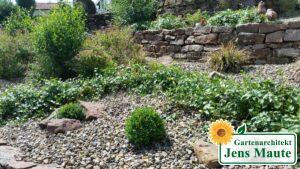 Pflanzung Maute Garten Marburg