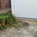 Herstellen einer Garagen-Zufahrt mit Pflastersteinen
