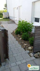 Gartenteil nach der Umgestaltung