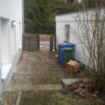 Gartenteil vor der Umgestaltung