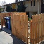 Zaunbauarbeiten - Holzzaun